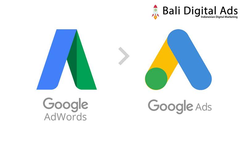 Google Adwords berubah menjadi Google Ads