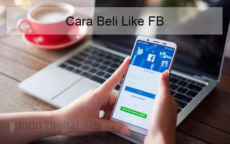cara beli like fb