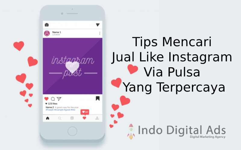 jual like instagram via pulsa