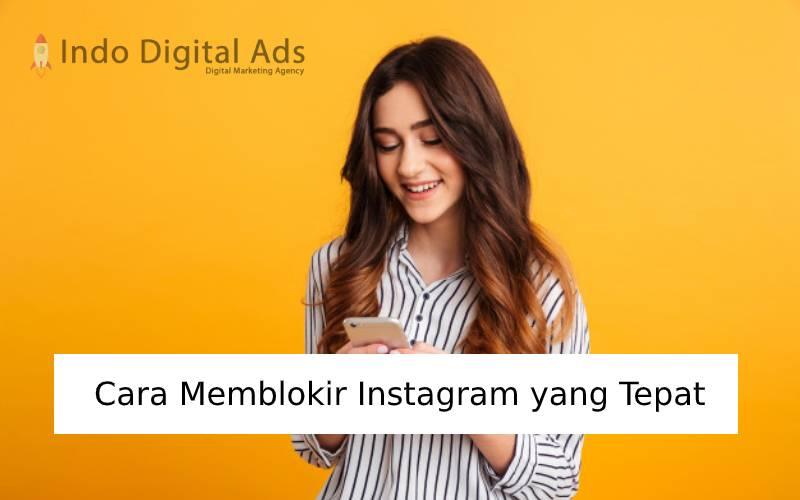 cara memblokir instagram yang tepat