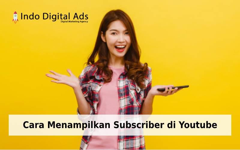cara menampilkan subscriber di youtube