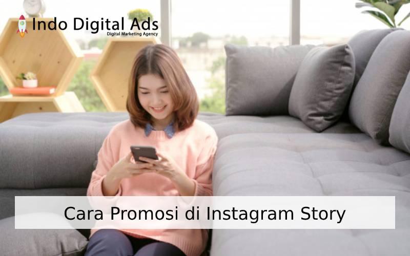 cara promosi di instagram story