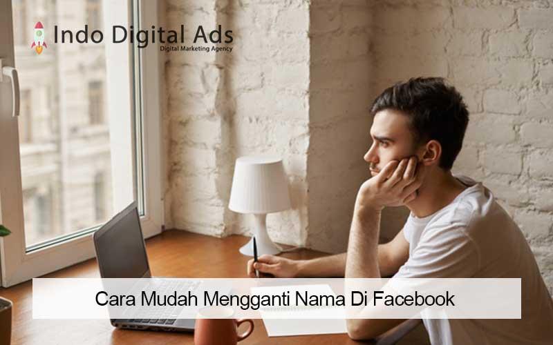 bagaimana cara mengganti nama di facebook