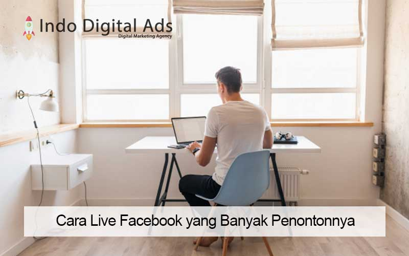 cara live facebook