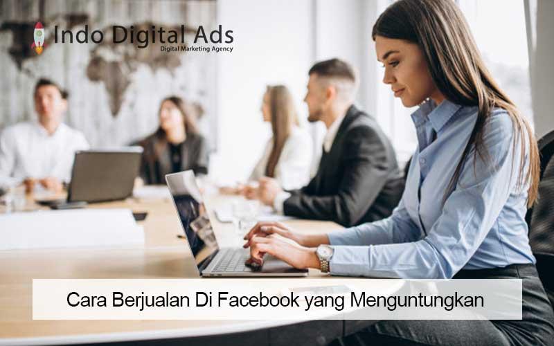 cara berjualan di facebook