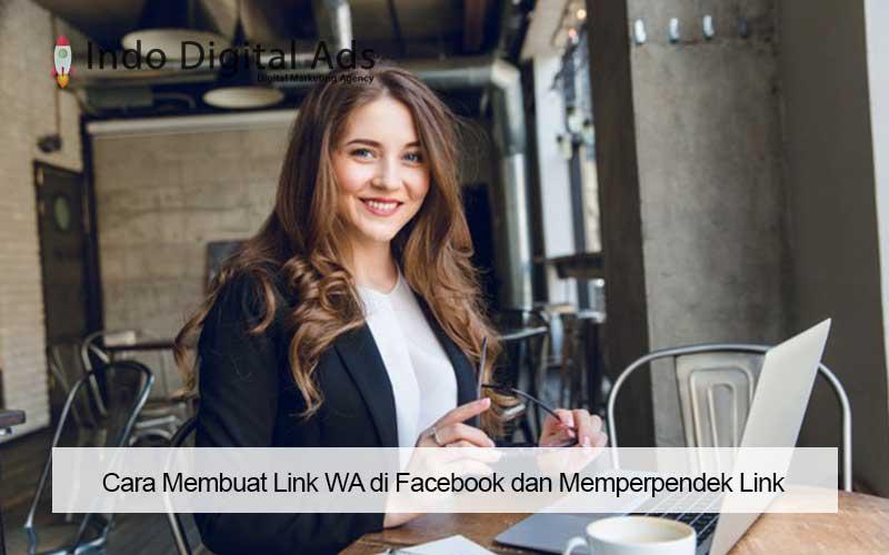 Cara Membuat Link WA di Facebook dan Memperpendek Link