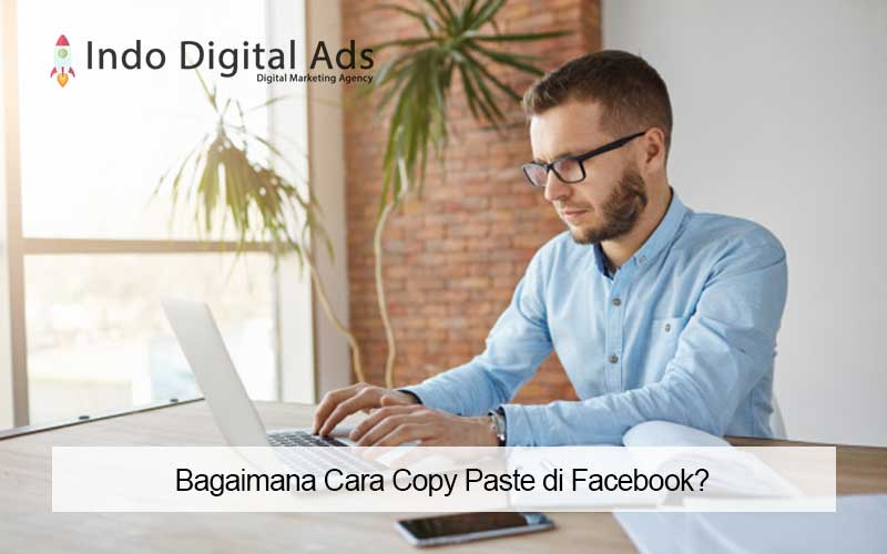 cara copy paste di facebook