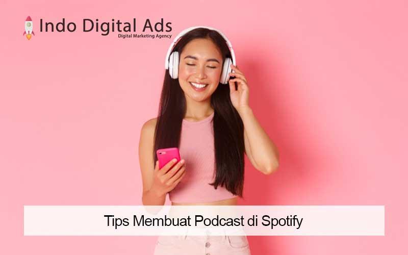 cara bikin podcast di spotify