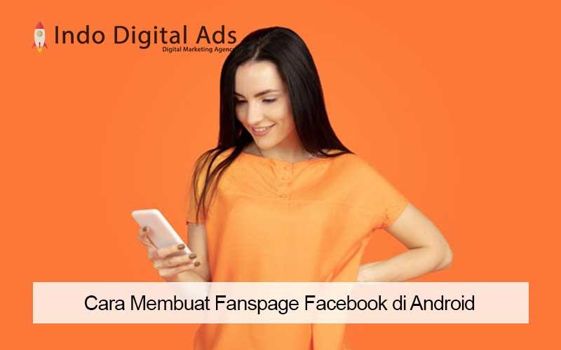 cara membuat fanspage facebook di android