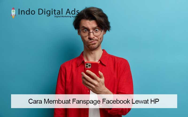 cara membuat fanspage facebook lewat hp