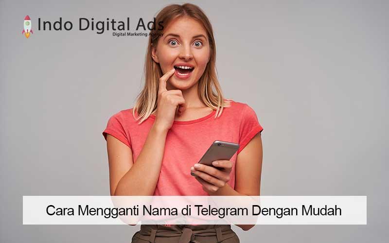 cara mengganti nama di Telegram