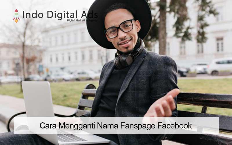 cara mengganti nama fanspage