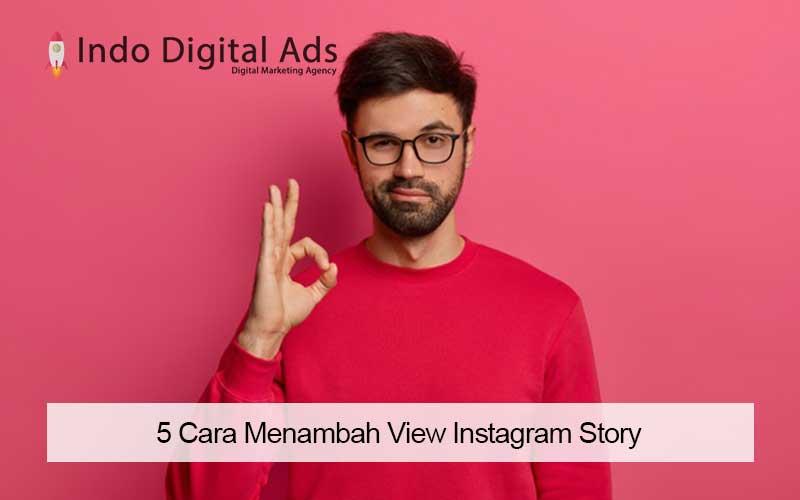 cara menambah view instagram