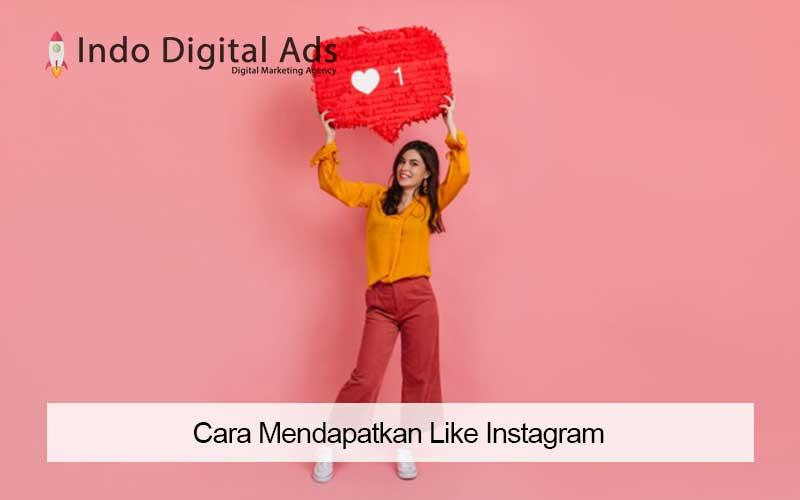 cara mendapatkan like instagram