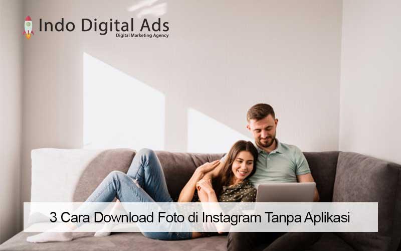 cara download foto di instagram tanpa aplikasi