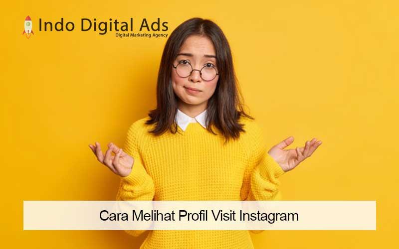 cara melihat profil visit instagram