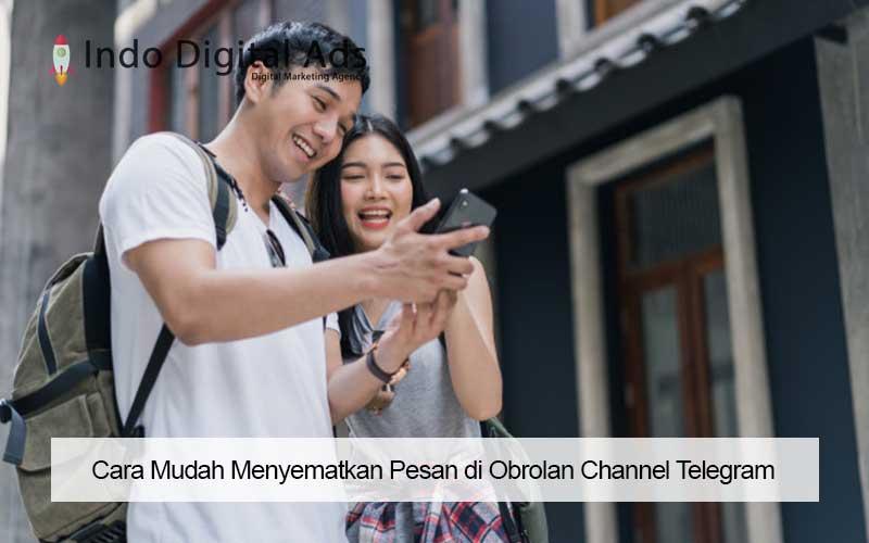 cara menyematkan pesan di channel telegram
