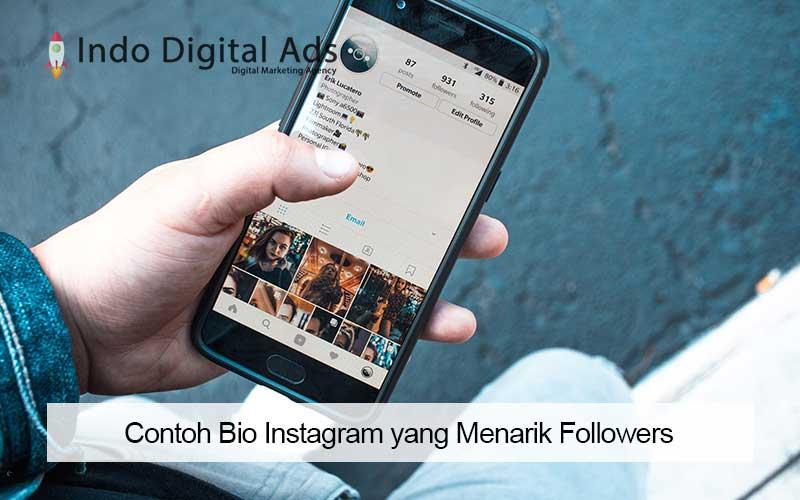 contoh bio instagram yang menarik followers