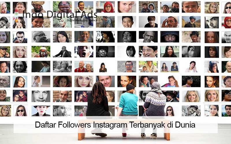 followers instagram terbanyak di dunia