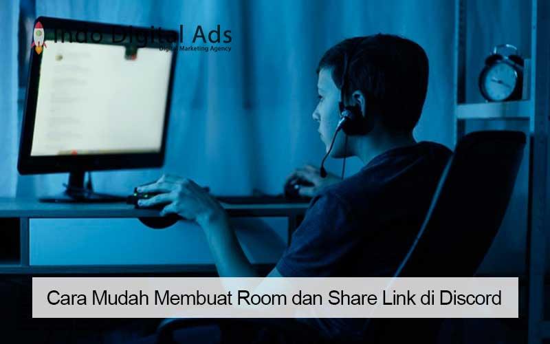 cara share link discord