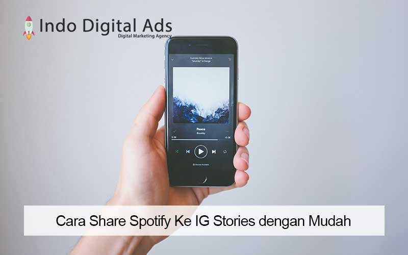 cara share spotify ke ig