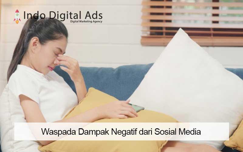 dampak negatif dari sosial media