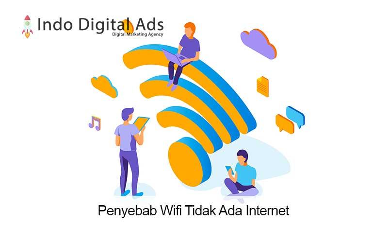 penyebab wifi tidak ada internet